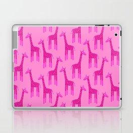 Giraffes-Pink Laptop & iPad Skin