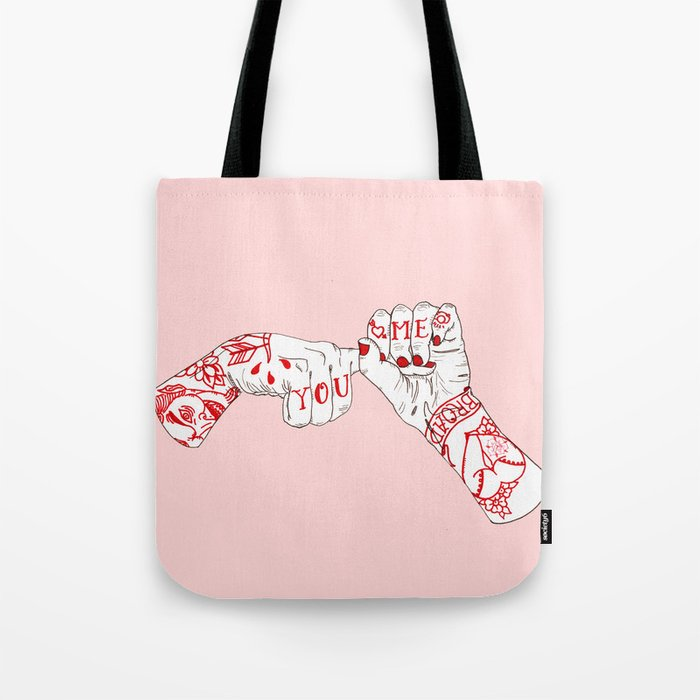 You, Me, Tonight Tote Bag