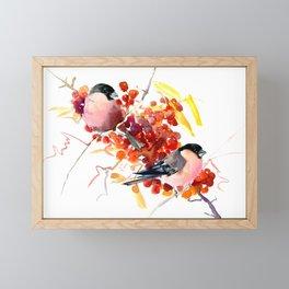 Bullfinch and the Fall Framed Mini Art Print