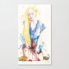 Her Virtue  Canvas Print