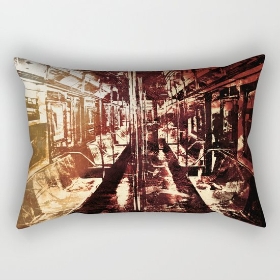 The Last Wagon Rectangular Pillow