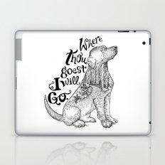 Where Thou Goest, I Will Go Laptop & iPad Skin