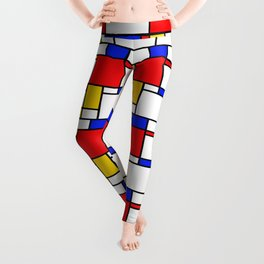 Piet Pattern Leggings