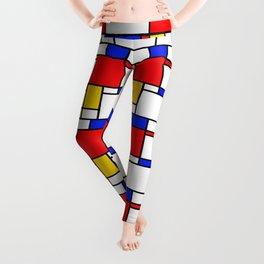 Piet Pattern Leggings