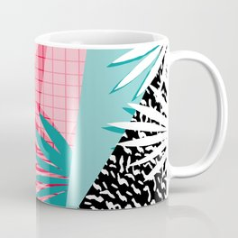 Bingo - throwback retro memphis neon tropical socal desert festival trendy hipster pattern pop art Coffee Mug