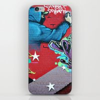 graffiti iPhone & iPod Skins featuring graffiti by mark ashkenazi