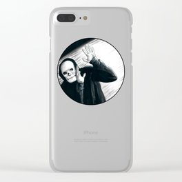 A Stupid Mask Is Not Going To Make You Invincible, Dude Clear iPhone Case