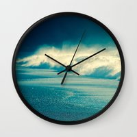 sparkle Wall Clocks featuring Sparkle by Ryan Fernandez Photography