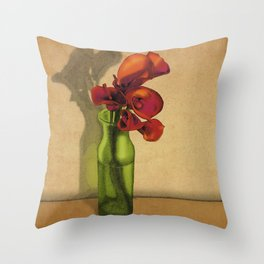 Calla lilies in bloom Throw Pillow