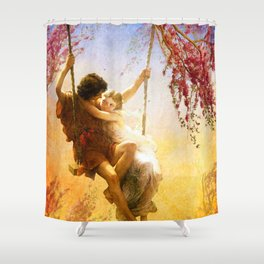The Spring of Our Love Shower Curtain