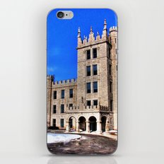 Northern Illinois University Castle - HDR iPhone & iPod Skin
