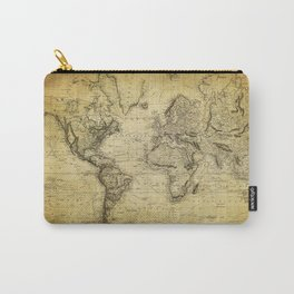World Map 1814 Carry-All Pouch