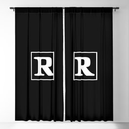 R Rated Blackout Curtain