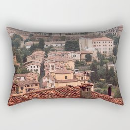 Bergamo cityscape Rectangular Pillow