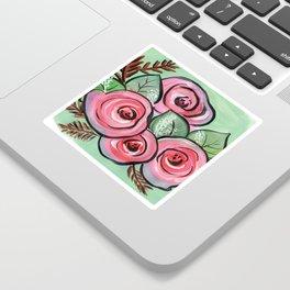Roses for my Valentine Sticker