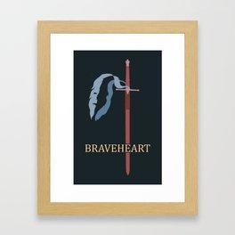 Brave ol' Freedom Framed Art Print