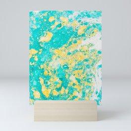 Spring Daze (Alcohol Inks Series 01) Mini Art Print