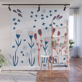 [ Doodle Spring Explosion ]   Wall Mural