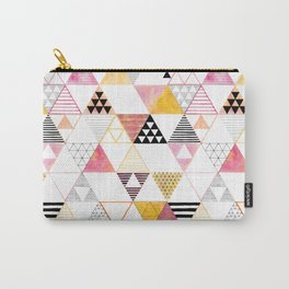 triangles #3 Carry-All Pouch