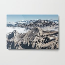 Mountain High Metal Print