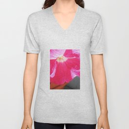 Pretty in Pink Unisex V-Neck