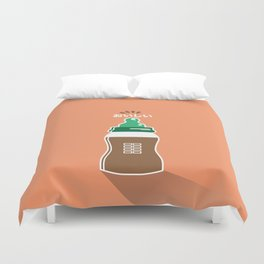 In My Fridge - Chocolate Milk Duvet Cover