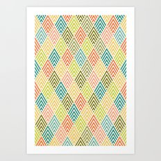 Citronique Series: Forêt Sorbet Art Print
