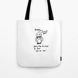 Penguin Doom Tote Bag
