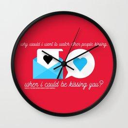 Simon Vs. The Homo Sapiens Agenda - Kissing you Wall Clock