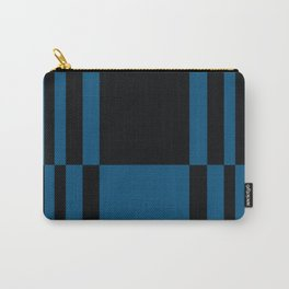 Black and Blue Carry-All Pouch