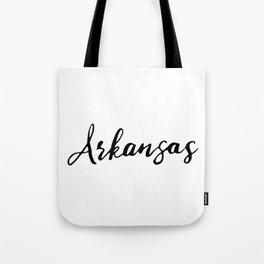 Arkansas (AR; Ark.) Tote Bag