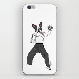 Kungfu Bulldog Lee iPhone Skin
