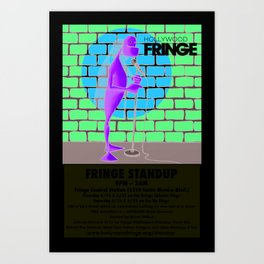 Hollywood Fringe Festival Comedy 2012 Art Print
