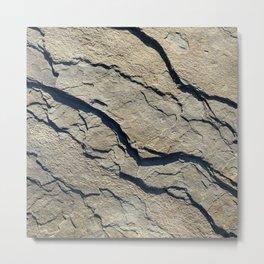 Stoneness of Stone Metal Print
