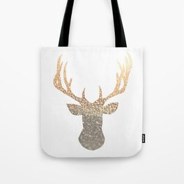 GOLD DEER Tote Bag
