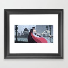 Moonlight Romance Framed Art Print