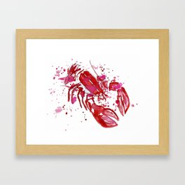 Lobster Framed Art Print