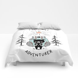 Adventure Bear Comforters