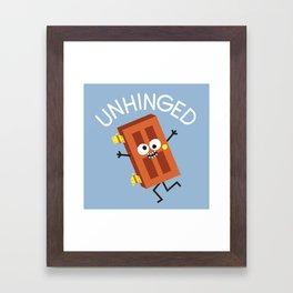 Don't Knock It Framed Art Print