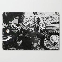 Dirt Bike Star - Motocross Racing Cutting Board