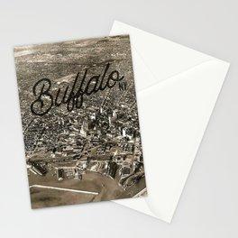 BUFFALO THEN Stationery Cards