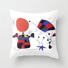 Joan Mirò #3 Throw Pillow