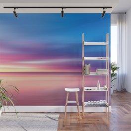 Abstract Sunset V Wall Mural