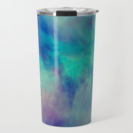 Abstract watercolor grunge pattern Travel Mug