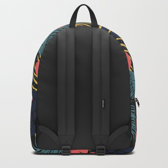 Tropical pattern 048 Backpack