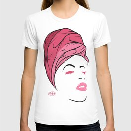 Lady Wrap (pink) T-shirt
