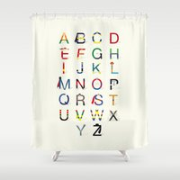 ABC SH Shower Curtain