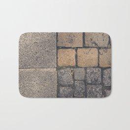 Triple cobblestones texture Bath Mat