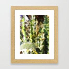 Cactus Garden Art Triangles 2 Framed Art Print