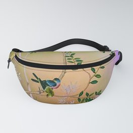Chinoiserie Style Fanny Pack